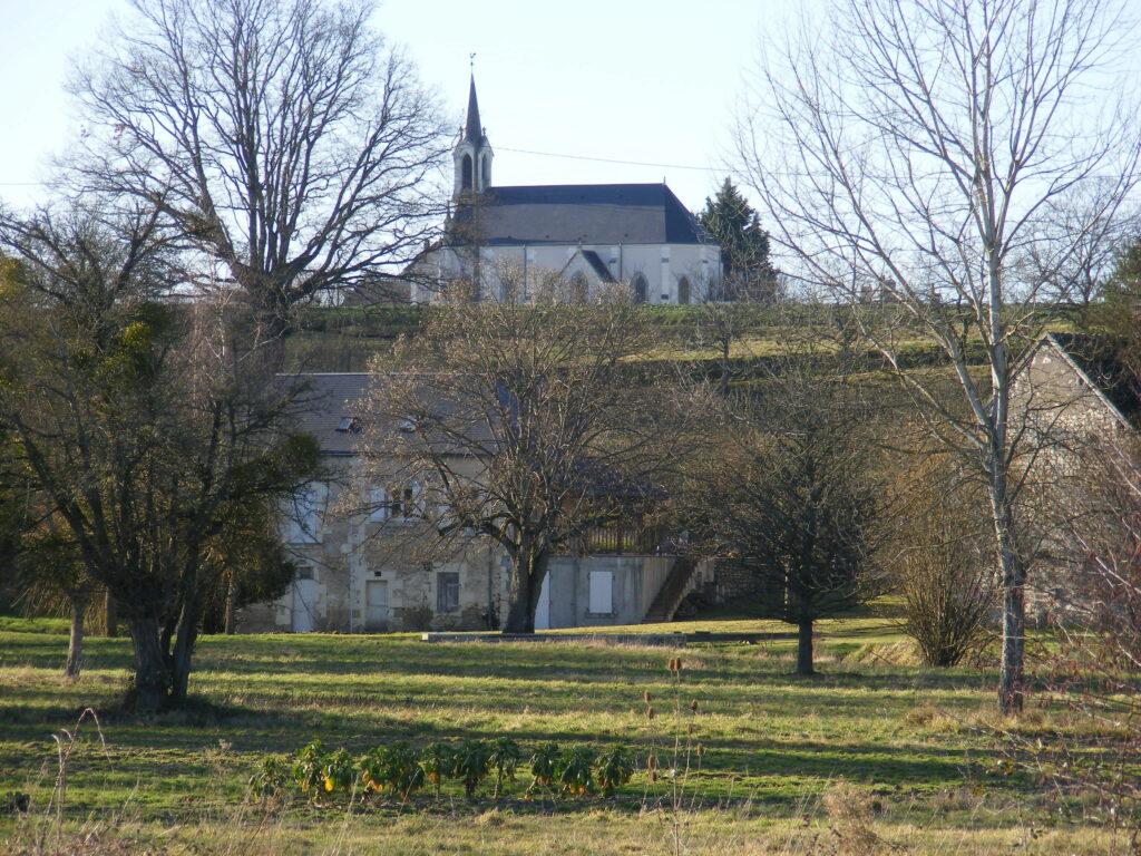 Plan église Fontguenand