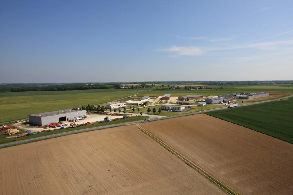 Photo de la zones d'activités Luçay-le-Mâle