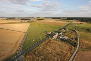 Photo de la zone d'activités de Vicq-sur-Nahon