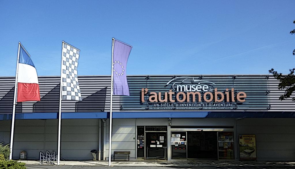 FACADE MUSEE AUTO VALENCAY